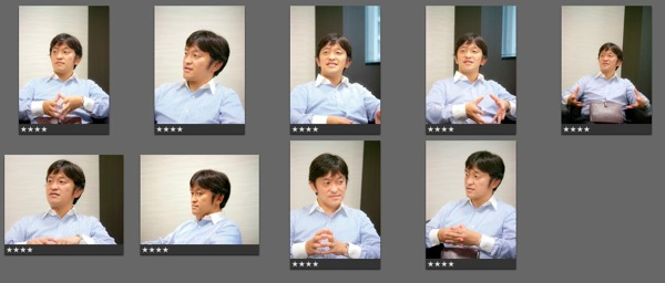 プロフィール写真を土井さんに撮ってもらいました @MyCAFE名古屋