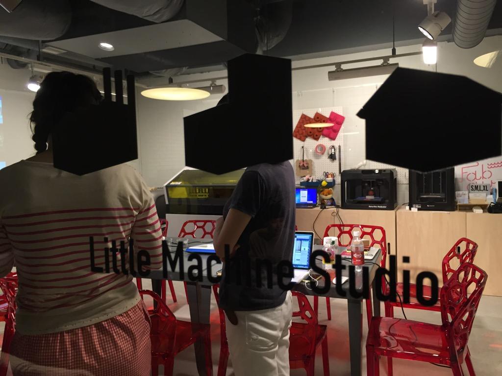 小さいデジタルファブリケーションマシンがそろう神田のLMS(LittleMachineStudio)はカジュアルにモノづくりができるラボでした
